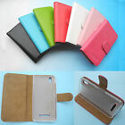 For Prestigio Multiphone -Wallet Folder Stand Flip PU Leather Case Cover 4G LTE