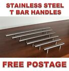 Stainless Steel Kitchen Cabinet Door Drawer Handles Handle TBar T Bar Pulls