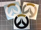 Overwatch Game Logo Vinyl Decal - Sticker - Multiple Colors and Sizes Available