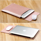 """Mouse Pad+ Sleeve Case Bag Laptop Cover for Macbook Pro 13/15"""" Air 11/13""""inch"""