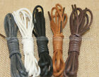 One Pair Wax Shoe Laces Round Shoestrings Strings Shoelaces SM2 HOME083