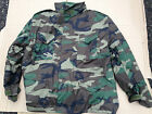 M65 Field Jacket Woodland Camouflage Army Style Best Quality