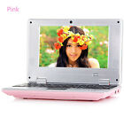"7"" Android Mini Notebook 4GB/8GB Laptop Camera WIFI Netbook Keyboard Quad Core"