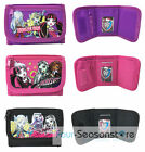 Mattel Monster High Wallet Kids Coin Purse Tri Fold Bag Girls Wallet