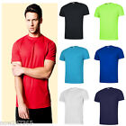 Mens T-Shirt Ultra Cool 100% Polyester Textured Breathable Sports Size XS - 3XL