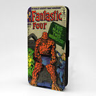Dr Doom & Fantastic Four PC Leather Flip Case Cover - Thing Is A Monster - S-T25