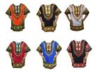 Kyпить Dashiki Men Shirt African Hippie Vintage Women Top Haute Tribal Blouse One Size на еВаy.соm