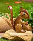 CHOMPER Squirrel Welcome Fall Harvest Garden Yard Lawn Outdoor Home Decor New