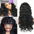 Soft Queen Brazilan Body Wave 100% Real Human Hair Lace Front/Full Lace Wigs New