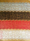 3 Strips Pre Made Edible Cake Lace Decoration CHANTELLE Wedding Birthday