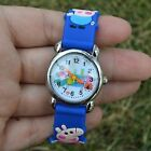 Kids 3D Character Silicone Rubber Band Watch Asst Colours Peppa Pig  Kids 3D New