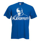"""Jim Mora Indianapolis Colts Andrew Luck """"PLAYOFFS"""" T-shirt  S-XXXXXL $15.99 USD on eBay"""