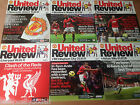Manchester United 2010-2011 Season Match Day Programmes - Your Choice