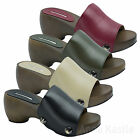 AnnaKastle New Womens Classic Platform Clogs Mules US 5 6 7 8