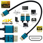 Premium 1080p 3D over HDMI Male to Male V 1.4 Ultra HD Ethernet Cable 0.25M 25CM
