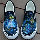 Harajuku Star Style Tide Hand-painted Canvas Shoes Women Men Girl Boy's Sneaker