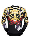 New Famous Fashion Brand Men's Autumn Winter Warm High Quality Casual Sweaters