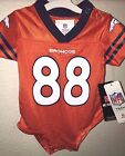 NFL 2019  Denver Broncos Demaryius Thomas # 88 Creeper Jersey BABY INFANT 0-9 M