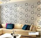 Modern Minimalit Circle patterns Style Wallpaper roll 3 colors 0.53m*10m=5.3m2