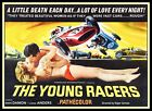 Young Racers FRIDGE MAGNET 6x8 Movie Poster Magnetic CANVAS Print
