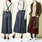 """2NEFIT"" Korea Women's Fashion PT-009 Wide Overalls Skirt Pants Free Size"