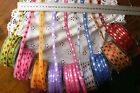 Two-Tones Woven Stitched BRAID 10mm wide 9 Colours 3 Metre Length MultiList Hall