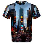 New York Times Square Sublimated Men's Sport Mesh T-Shirt size XS-3XL free ship