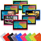 """7"""" Quad Core Tablet PC 8GB Android 5.1 HD Dual Camera WiFi 3D Game Refurbished"""
