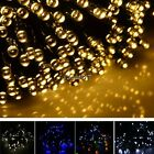 17M 100 LED Solar String Light Multicolor Waterproof Party Outdoor Decor EA77