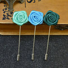flower pins for suits - Men's Suits Brooches Flower Lapel Pins Handmade Mens Brooches for Wedding Suits