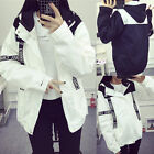 Autumn Student Loose Casual Jacket Bike Walking Outdoor Sports Wind Coat A+