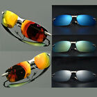 Men's Polarized Lens UV400 Sunglasses Sports Eyewear Aviator Driving SUN Glasses