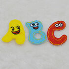 cartoon cute letter ABC Embroidered Cloth Iron On Patch Sew Motif Applique badge