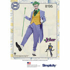 PATTERN SIMPLICITY Men's The JOKER Costume 38 - 52 Tail Coat Suit YOU Sew It