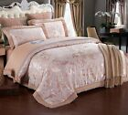 ROMORUS 4-Piece Luxury Bedding Duvet Cover Set - Creme Bronze (King, Queen)
