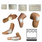 Steropore Adhesive Wound Dressing Big Plasters First Aid Cuts Burns Sterile Pad