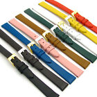 Extra-Long XL Fine Calf Ladies Watch Band 12mm 14mm Lots of Colours