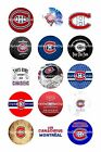 """MONTREAL CANADIENS  1 """" CIRCLES  BOTTLE CAP IMAGES. $2.45-$5.50 **FREE SHIPPING* $3.45 USD on eBay"""