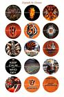 "CINCINNATI BENGALS 1"" CIRCLES  BOTTLE CAP IMAGES. $2.45-$5.50 **FREE SHIPPING** $4.45 USD on eBay"