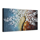 Original Hand Paint Canvas Paintings Pictures Wall Art Home Decor Flower Tree
