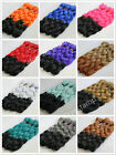 "3X 24"" Ombre Two Tone Three Tone Dip Dye Synthetic Braid Hair Extension"