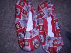 BOWLING SHOE COVERS-OHIO STATE -MED, LG OR XL