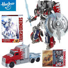 TRANSFORMERS PLATINUM EDITION SILVER KNIGHT OPTIMUS PRIME HASBRO ROBOT TRUCK TOY - Time Remaining: 3 days 19 hours 17 minutes 16 seconds