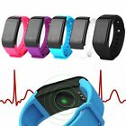 Wrist Fitness Activity Tracker Heart Rate Monitor Watch Altimeter Thermometer