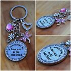 Best Friend - Crystal  Keyring  - Gift for your Friend