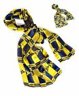 Official NCAA West Virginia Mountaineers Sheer Scarf in 2 Styles (CS541)