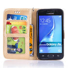 Stand Flip Leather Wallet Card Pouch Case Skin Cover For Samsung Galaxy J5 J7