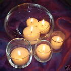 """1.875""""  Floating Votive Cosmic Candles 12 Pack  Colors 01-18  12 Hr    UNSCENTED"""