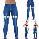 Fashion Women Fitness Tights Elastic Sport Yoga Pant Trousers Running Gym Pant