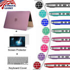 Matte Hard Case For Macbook Air Pro Retina 12 13 Laptop Case Keyboard Cover LCD